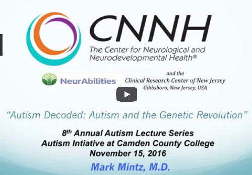 Autism Not Only Neurodevelopmental >> Autism Treatment And Testing At Cnnh In Nj Pa